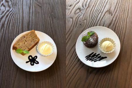 森の喫茶店オリジナル 手作りスイーツ